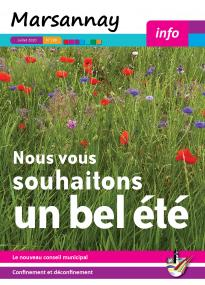Couverture Marsannay Info - n°199 - Juillet 2020