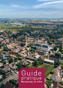 Couverture du guide pratique - Photo aérienne de Marsannay