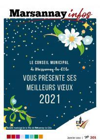 Couverture Marsannay Infos - n°201 - Janvier 2021