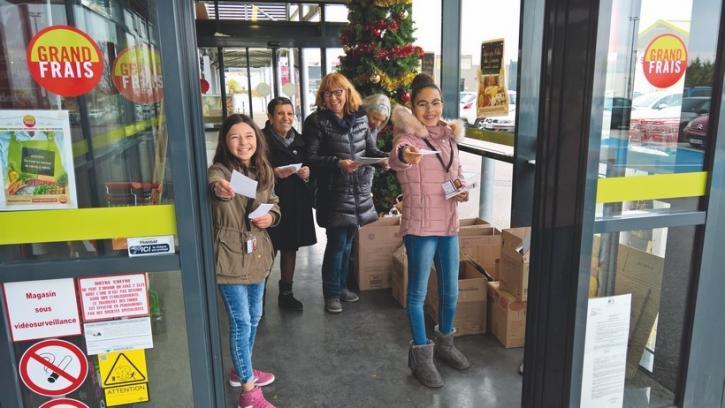 CMJ - collecte banque alimentaire