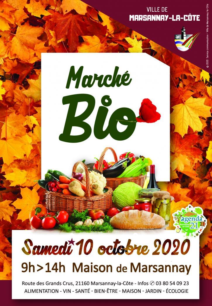 Marché Bio octobre 2020