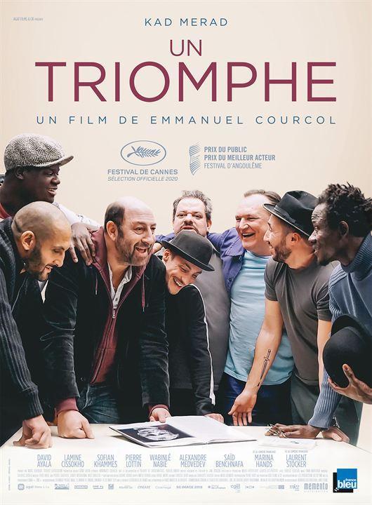 Affiche cinéma - Un Triomphe